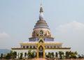 Pagoda at wat ta ton chiang mai northern thailand Stock Photo