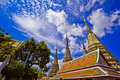 Pagode in Wat Pho Stock Foto