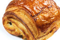 Pain Au Chocolat Closeup Royalty Free Stock Image