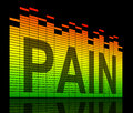 Pain Concept. Royalty Free Stock Photo