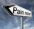 Pain relief Royalty Free Stock Images