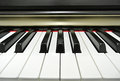 Paino keys close up of piano Stock Photos