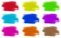 Paint colours set of 9