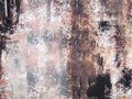Paint dirty metallic surface Royalty Free Stock Photography