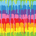 Paint drips pattern vector Royalty Free Stock Photo