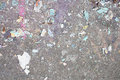 Paint drops on floor Royalty Free Stock Photo