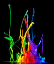 Paint splash Stock Photography