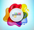 Paint splashes Royalty Free Stock Photos