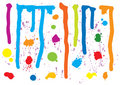Paint Splatters Stock Image