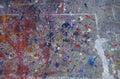 Paint Splatters Background