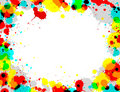 Paint Stains Royalty Free Stock Photography