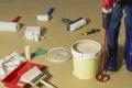 A paint stirrer