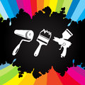 Paint tool vector