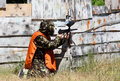 Paintball Fotografie Stock