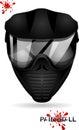 Paintball mask Royalty Free Stock Photo