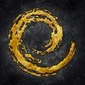 Paintbrush Spiral Royalty Free Stock Photo