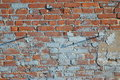 Painted Brick Wall Royalty Free Stock Image