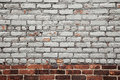 Painted Brick Wall Background