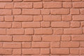 Painted Brick Wall. Background, Texture.