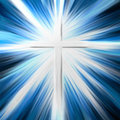 Painted Cross Royalty Free Stock Images