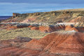 Painted Desert, Petrified Forest National Park Stock Image