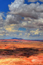 Painted Desert Storm Royalty Free Stock Photo
