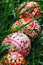 Painted Easter eggs 19 Royalty Free Stock Photo