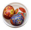 Painted Easter eggs Royalty Free Stock Image