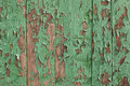 Painted green wood Royalty Free Stock Image