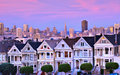 Painted Ladies, San Francisco Stock Images