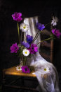 PAINTED WITH LIGHT STILL LIFE Royalty Free Stock Photo