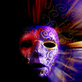 Painted mask background Stock Images