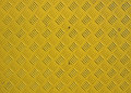 Painted metal background yellow texture Royalty Free Stock Photos