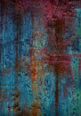 Painted metallic texture old dark metal background Stock Image