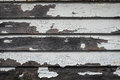 Painted old wooden wall. Royalty Free Stock Photo