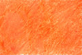 Painted on paper crayon orange Royalty Free Stock Photo