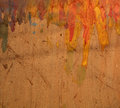 Painted pasteboard background Royalty Free Stock Photo