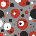 Painted Retro Circles Background Royalty Free Stock Images