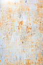 Painted rusty wall Royalty Free Stock Photo