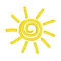 Painted Sun -  Illustration