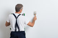 Painter Painting Wall Royalty Free Stock Photo