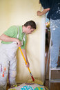 Painters and decoraters Royalty Free Stock Photo