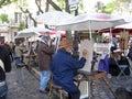 Painters in Monmartre Paris France