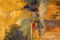 Maľovanie z abstraktné farbistý