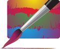Painting brush Royalty Free Stock Photography