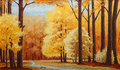 Painting on canvas Royalty Free Stock Photo
