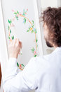 Painting Decorator Royalty Free Stock Photography