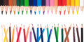 Painting pencils Royalty Free Stock Photo