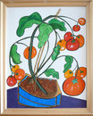 Painting of  tomatoes Royalty Free Stock Photo