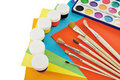 Painting tools. Stock Images